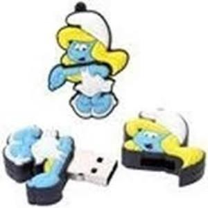 Flash Disk Super Cut Dwarfs Drandpa Mini Micro Sd Card Reader 1Gb