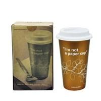 Tempat Minum Cup Coffee Brown  1