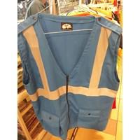 The Vest Of America Drill Blue Pertamina Material 1