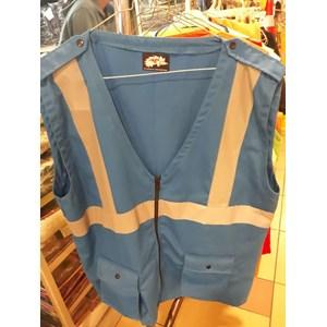 The Vest Of America Drill Blue Pertamina Material