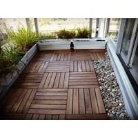 Jual Lantai Kayu Decking Tiles Merbau