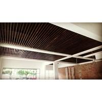 Jual Atap Plafon Kayu Lambersering Harga Murah Bogor Oleh Gallery Parket