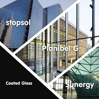 Coated Glass / Stopsol Sunergy Planibel G
