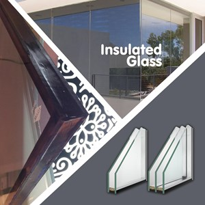 Insulated Glass - IGU / Kaca Berisolasi - Airspacer 6 mm
