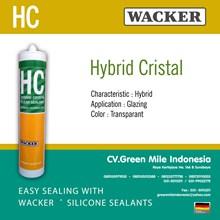 Silikon Kaca Hybrid Crystal