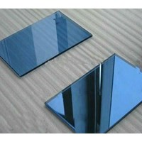 Kaca Tempered Tinted/Panasap (Dark Blue) 5mm
