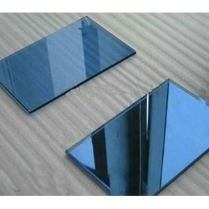 Kaca Tempered Tinted/Panasap (Dark Blue) 5mm