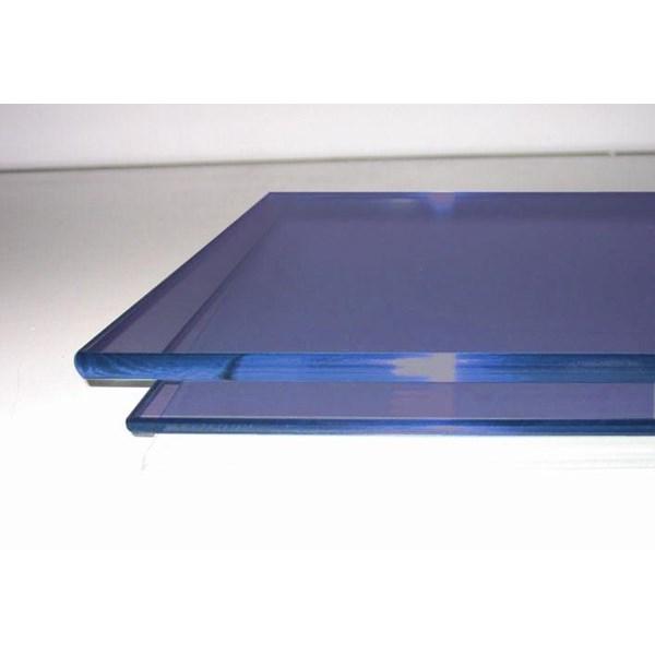 Kaca Tempered Tinted/Panasap (Dark Blue) 12mm