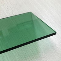 Kaca Tempered Tinted/Panasap - Green 5mm