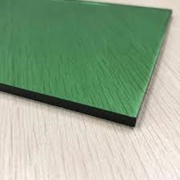Kaca Tempered Tinted/Panasap - Green 12mm