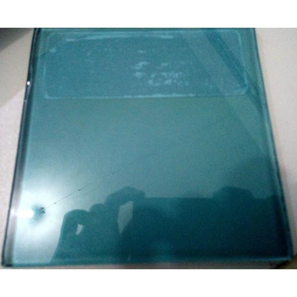 Kaca Tempered Tinted/Panasap - Blue Green 8mm