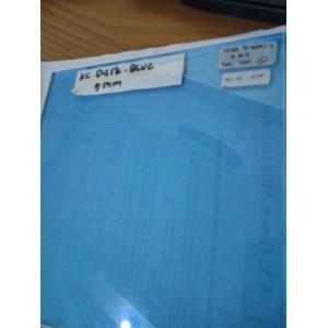 Kaca Tempered Stopsol (Dark Blue) 5mm