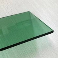 Kaca Tempered Stopsol - Green 6mm