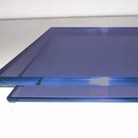 Kaca Tempered Stopsol - Blue Green 6mm