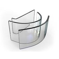 Kaca Lengkung Tempered - Clear
