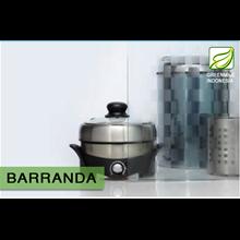 Kaca Interior Tekstur - BARRANDA 5mm