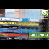 Kaca Interior Motif - MILLENIUM 5mm