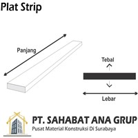Plat Strip 4MM x 30 x 5.4M