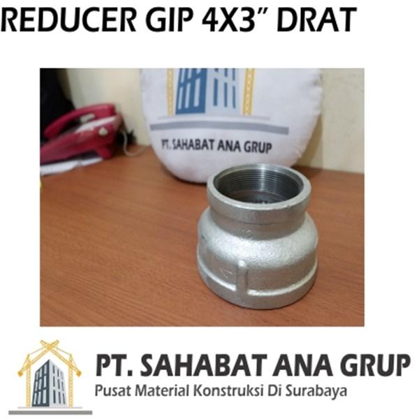 Reducer GIP 4x3 Inch Drat - PROMO