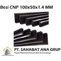 Besi CNP 100x50x1.4 MM