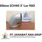 Elbow SCH40 3 inch Las 90D 1
