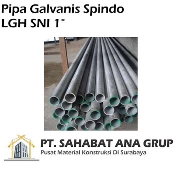 Pipa Galvanis Spindo LGH SNI 1 inch