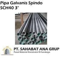 Pipa Galvanis Spindo SCH40 3 inch