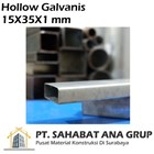 Besi Hollow Galvanis 15X35X1 mm 1