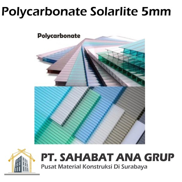 Polycarbonate Solarlite 5mm