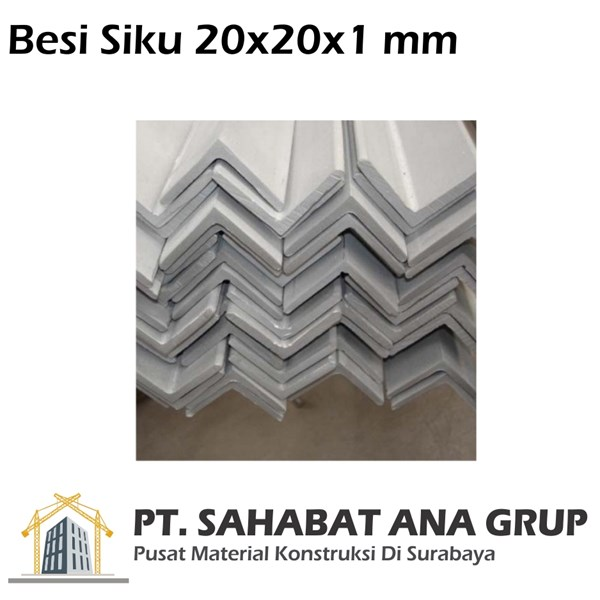 Besi Siku 20x20x1