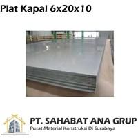 Plat Kapal 6x20x10