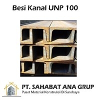 Besi Kanal UNP 100