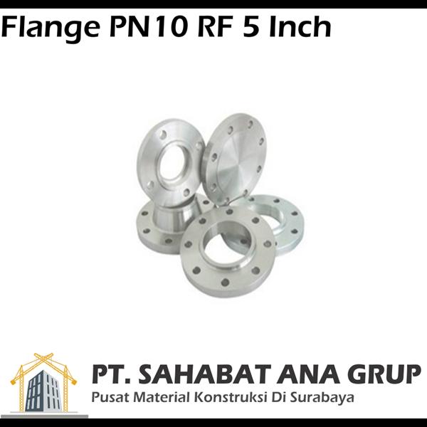 Flange PN10 RF 5 Inch