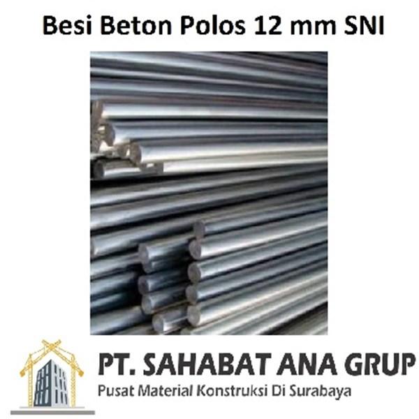 Besi Beton Polos 12 mm SNI