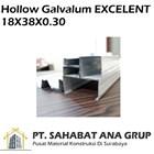 Hollow Galvalum EXCELENT 18X38X0.30 1
