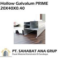 Besi Hollow Galvalum PRIME 20x40x0.40