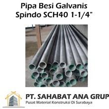 Pipa Galvanis Spindo SCH40 1-1/4