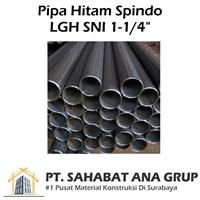 Pipa Hitam Spindo LGH SNI 1-0.25 inch