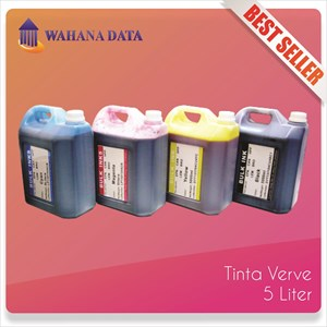 Tinta Refill / Isi Ulang Printer Epson-Canon-Hp-Brother - Verve 5 Liter