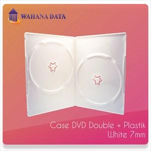 Case Dvd Double Tebal 7Mm Verve Putih