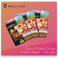Glossy Paper Sticker Phoenix 240 Gsm