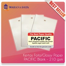 Kertas Foto Glossy Photo Paper A4 210 Gsm Pacific