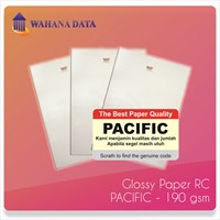 Kertas Foto Rc / Rc Glossy Photo Paper Pacific 190 Gsm - Isi 20