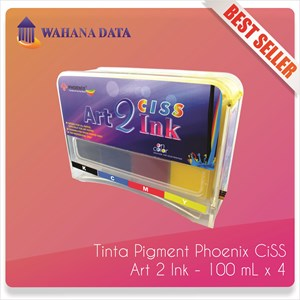 Tinta Infus / Ciss Modifikasi Art Paper Ink  Taiwan Printer Epson - Phoenix 100 Ml 4 Warna