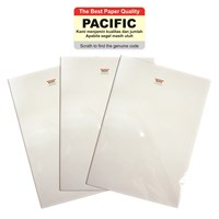 Kertas Foto Stiker Glossy Photo Paper A4 130 Gsm Pacific - Isi 20