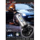 2 Pcs Headlight / Lampu Depan Led Mobil Luxon H7 / H11 - 4000Lm