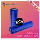 Baterai Imr 18650 3.7V Tnd 2600Mah 20A - Untuk Vapor-Senter-Powerbank Authentic-Garansi 1