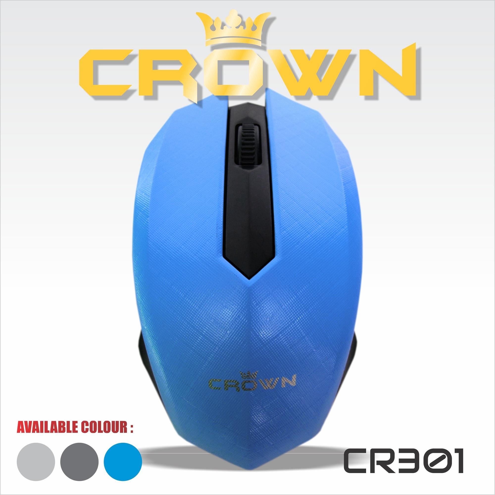 Jual Mouse Komputer Laptop Crown 301 Harga Murah