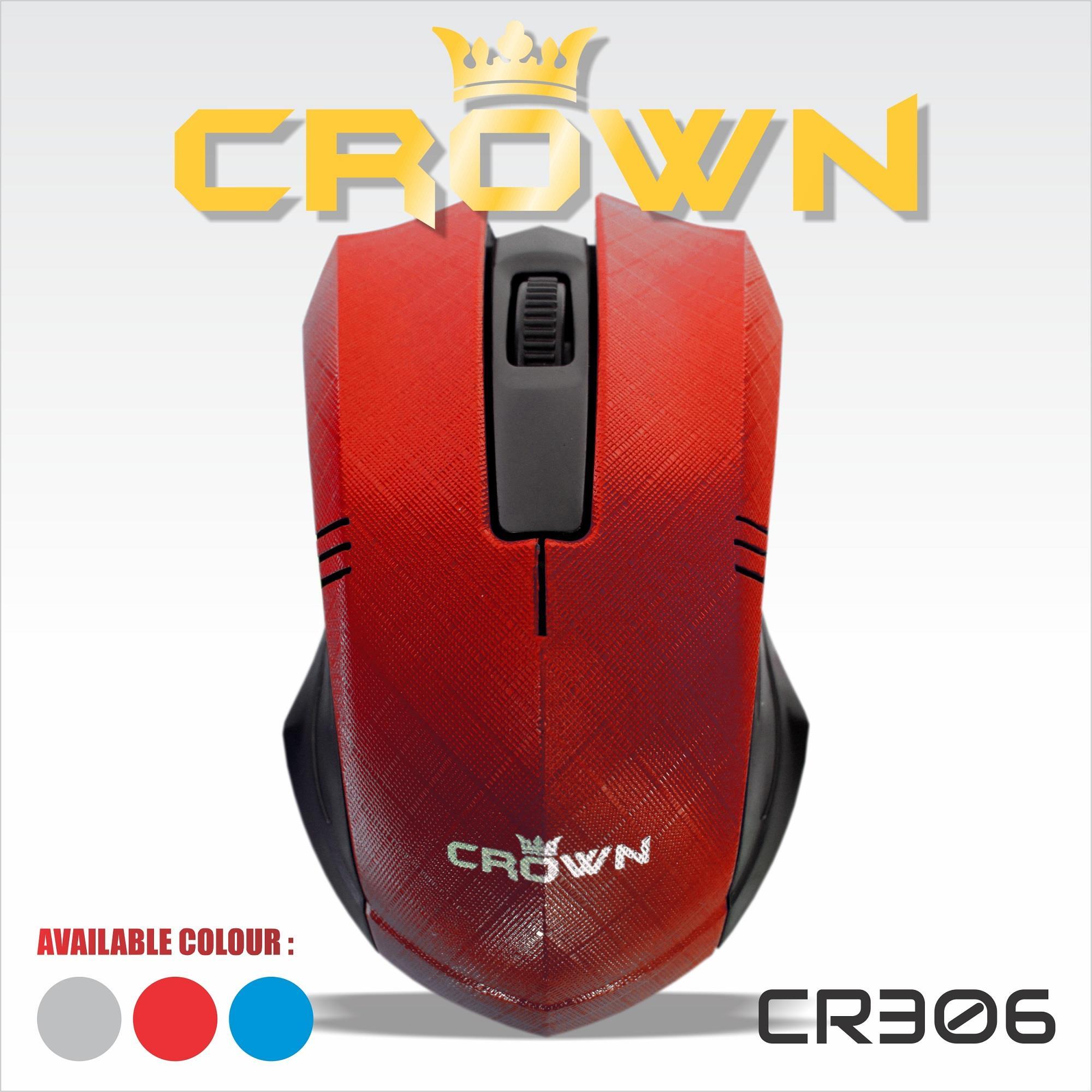 Jual Mouse Komputer Laptop Crown 306 Harga Murah
