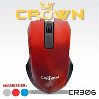 Beli Mouse Komputer / Laptop Crown 301 303 305 306 4